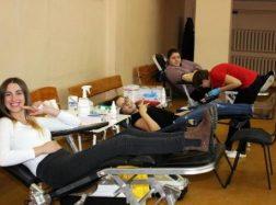 Naumiestiškiai tapo kraujo donorais