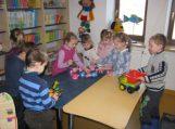 Šaltą žiemą – šilta pažintis vaikams su biblioteka