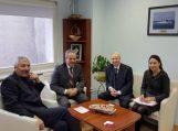 Klaipėdos prekybos, pramonės ir amatų rūmų atstovų vizitas