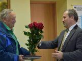 Padėka ir sveikinimai Medardui Urmulevičiui