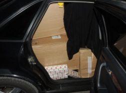 Su palyda į Tauragę gabentas kontrabandos krovinys tikslo nepasiekė