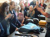 Pamario mokyklos šeštokai lankėsi Šilutės policijos komisariate
