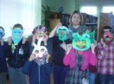 """Kūrybiniai-edukaciniai užsiėmimai vaikams """"Kaukių maskaradas"""""""