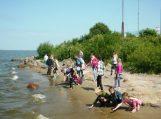 Vasarą mokiniai pasitiko stovyklaudami