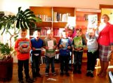 Pirmokėlių pažintis su biblioteka