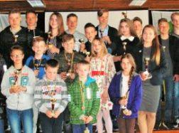 Apdovanoti Vilkyčių pagrindinės mokyklos geriausi sportininkai