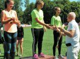 Vilkyčių pagrindinės mokyklos sportininkai dalyvavo didžiausiame vaikų sporto renginyje