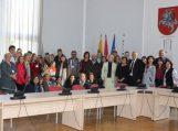 Savivaldybėje svečiavosi mokinių delegacija