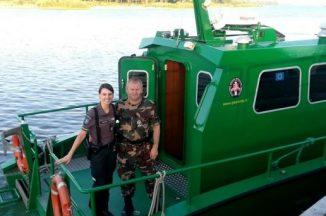 Policijos pareigūnai vykdė sustiprintą patruliavimą prie vandens telkinių