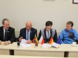 Savivaldybėje lankėsi svečiai iš Lenkijos ir Vokietijos