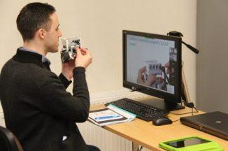 Praktinių studijų dieną Šilutės Pamario pagrindinės mokyklos mokiniams pristatyti robotikos užsiėmimai