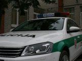 Pavogtas automobilis rastas už daugybės kilometrų