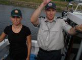 Šilutėje policijos pareigūnai kartu su aplinkosaugininkais užtikrina viešąją tvarką poilsiavietėse