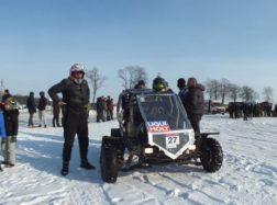 Fotoreportažas: Ant apsemtų pievų Šilutės pakraštyje vyko lenktynės