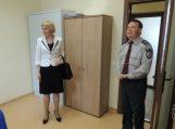 Šilutės merė padėkojo pareigūnams už puikiai atliktą darbą miesto šventės metu