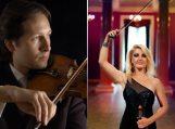 Kintų muzikos festivalyje – netikėtas smuikininkų duetas