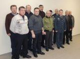 Šilutės policijoje susitiko buvę pareigūnai