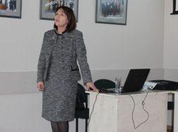 Savivaldybėje lankėsi Tuberkuliozės filialo vadovė