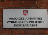 Moksleiviai kviečiami į atvirų durų dieną Tauragės apskrities vyriausiajame policijos komisariate