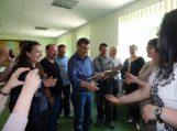 """""""Diemedžio"""" ugdymo centre lankėsi svečiai iš Turkijos"""
