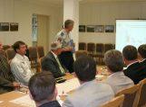 Visuomeninei tarybai ir vietos valdžios atstovams Baublių muziejuje pristatyta Tauragės policijos pusmečio veikla