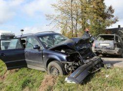 Po avarijos vairuotojas spruko palikęs sužeistuosius