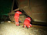Traukinys mirtinai traumavo ant bėgių gulėjusį vyrą