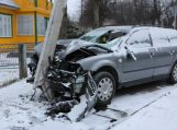 Skaudi eismo nelaimė Žemaičių Naumiestyje