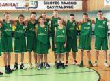 Šilutės sporto mokyklos krepšininkai stipriausiųjų ketvirtuke