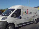 Specialus ESF autobusiukas jau Šilutėje