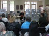 Susitikimas su Klaipėdos universiteto profesoriumi, filosofu Helmutu Arnašiumi