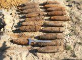 Šaudmenų arsenalai rasti Pagėgių savivaldybės trijose sodybose atiteko kariškiams