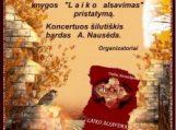 """V.Astrauskienės knygos """"Laiko alsavimas"""" pristatymas"""