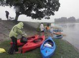 Organizuojamas baidarių maratonas Nemuno deltos taurei laimėti