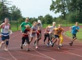 1 val.bėgimas, skirtas Baltijos kelio 25 – mečiui paminėti paliko nešdildomą įspūdį