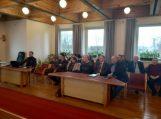 Savivaldybės vadovai 2019 metų veiklos ataskaitą pristatė Rusnėje ir Juknaičiuose