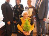 Juknaitiškė Bronislava Olkštinienė mini savo 90-ąjį jubiliejų