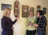 Dianos Maldeikytės-Behm tapybos darbų parodos bibliotekose