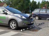 Šilutėje pradėjo veikti pirmoji elektromobilių įkrovimo aikštelė