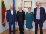 Savivaldybėje apsilankė partneriai iš Vokietijos
