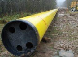 Naujas dujotiekis, kuris bus tiesiamas per Šilutės rajoną, gavo finansavimą