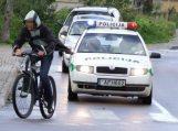 Dviratininkams policija primena saugaus eismo reikalavimus