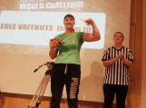 E.Vaitkutė Švedijoje tapo nugalėtoja (video)