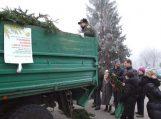 """Akcija """"Parsinešk Kalėdas į savo namus"""" sulaukė didelio žmonių antplūdžio"""