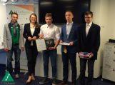 Lietuvos JA Titan verslo čempionatą laimėjo Šilutiškiai