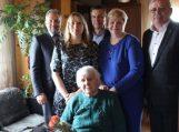 Su 90-uoju gimtadieniu pasveikinta Adelė Elena Šulcienė