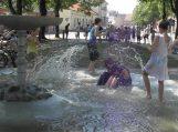 Skverelio fontanas – atgaiva nuo karščio