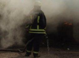 Gorainiuose sudegė, įtariama, padegtas ūkinis pastatas