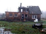 Žalgirių kaime sudegė gyvenamasis namas