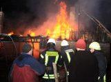 Petreliuose sudegė jaunos šeimos būstas